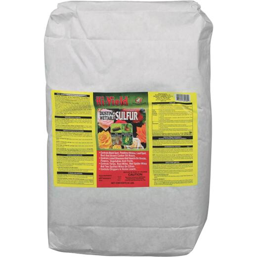 Hi-Yield 25 Lb. Powder Concentrate Wettable Sulphur Fungicide